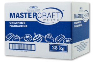 Margarine White Mastercraft 25kg