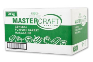 Margarine Yellow Mastercraft 20kg