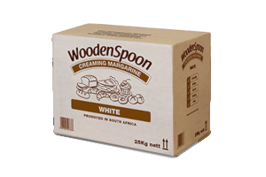 Margarine White Wooden Spoon 25kg